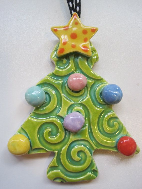 Image result for ceramic children christmas ornament
