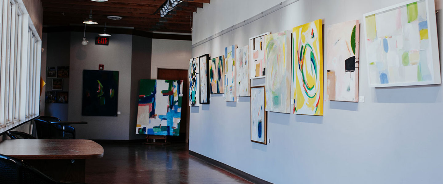 art on display at Edmond Fine Arts Institute