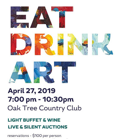 Annual Eat. Drink. Art. Event Set for April 27th