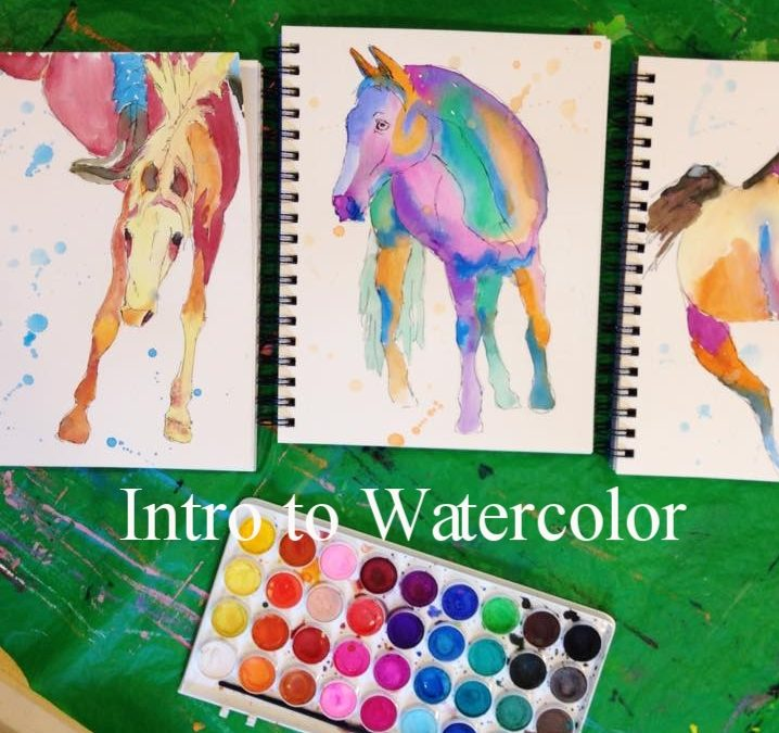Intro to Watercolor with Lauren Florence