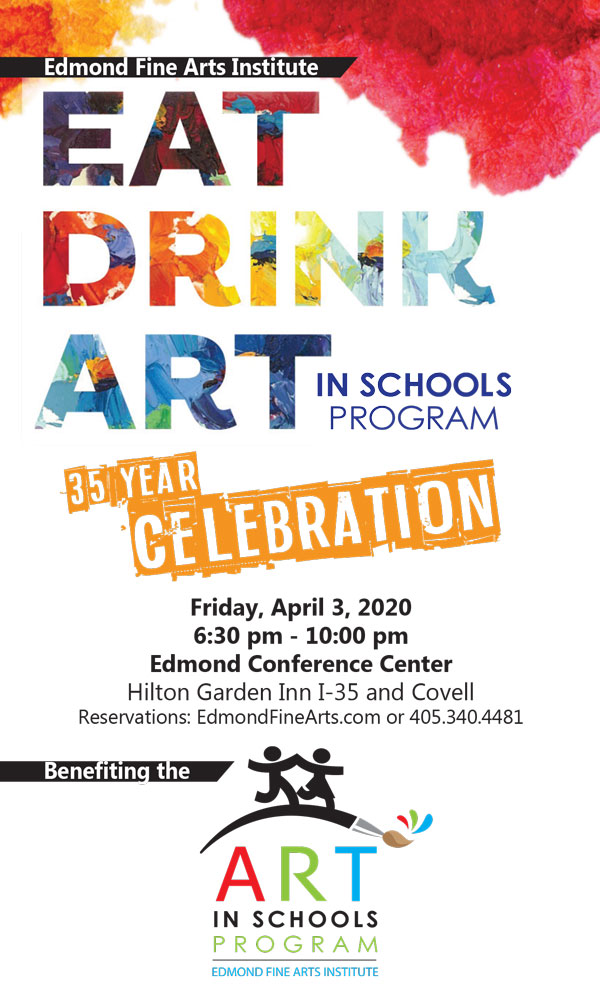 Eat Drink Art - Fine Arts Institute of Edmond