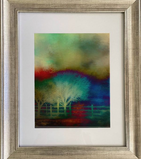"""Raffle Ticket for """"Reaching for the Sky"""" By Martha Turner"""